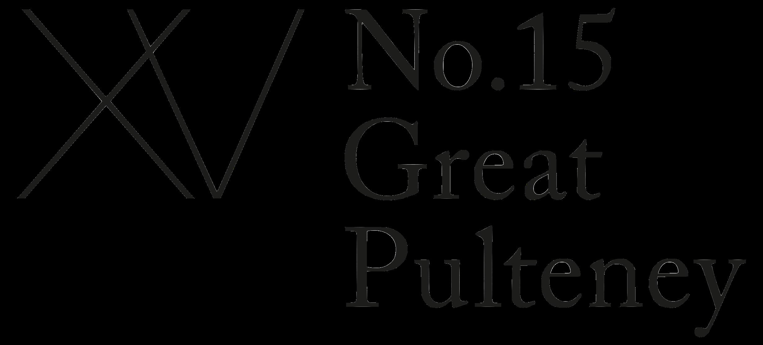 No.15 Great Pulteney